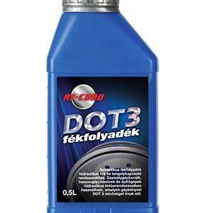 DOT 3. Fékolaj